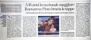 Intervista a Daniele su La Stampa.