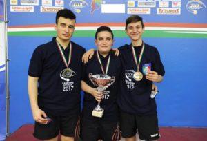 Pioggia di medaglie ai Campionati Italiani giovanili per il TT Torino!